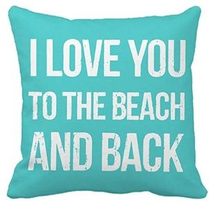 Other - I Love You To The Beach And Back Throw Pillow Case